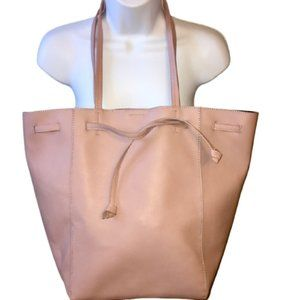 French Connection Tote Pink PVC Vegan Large